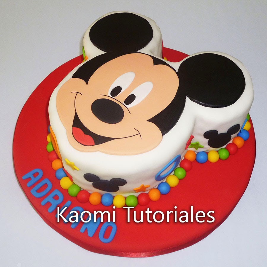How To Make A Mickey Mouse Cake