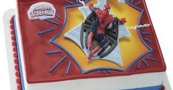 Koleksi Gambar Kue Ulang Tahun Spiderman Dan Elsa Frozen