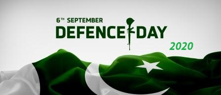 6th September 2020 Defence Day of Pakistan 2020 — a new experiments
