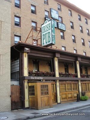 exterior of Irish Pub in Atlantic City, New Jersey