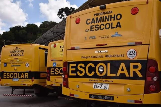 Alunos de Colombo tem até o dia 24 para emitir as novas carteirinhaa para o transporte escolar