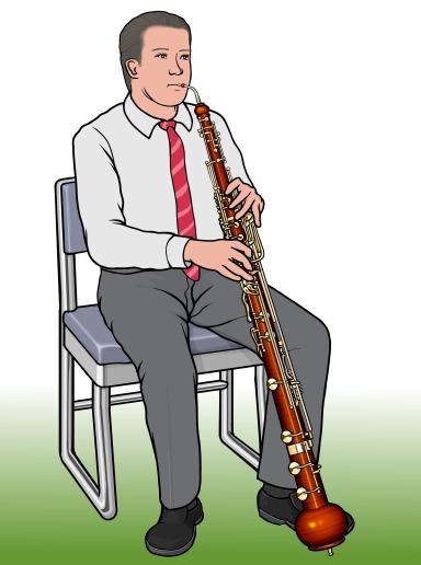 ヘッケルフォーン heckelphone ダブルリードの木管楽器