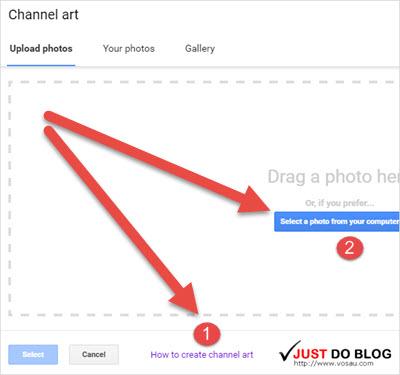 huong dan tao youtube channel art bang tay