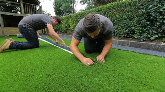 installing synthetic turf