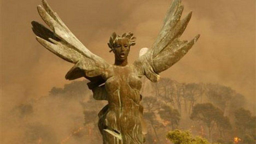 Απειλείται από τις πυρκαγιές η Αρχαία Ολυμπία