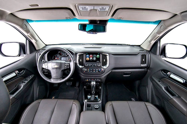 Chevrolet TrailBlazer 2017 interior