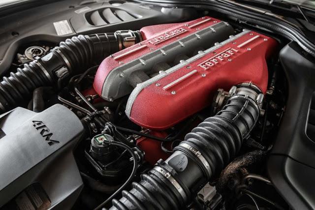 2017 FERRARI GTC4LUSSO T Engine