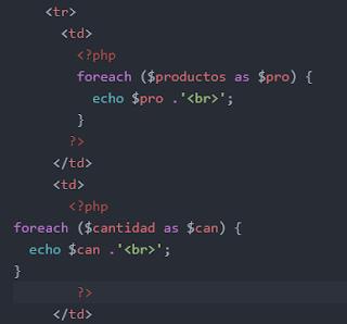 Calcular factura de productos en PHP