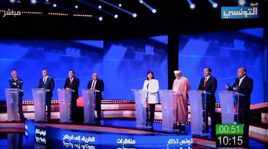 DÉBAT TV POUR LA PRÉSIDENTIELLE SANS PRÉCÉDENT EN TUNISIE
