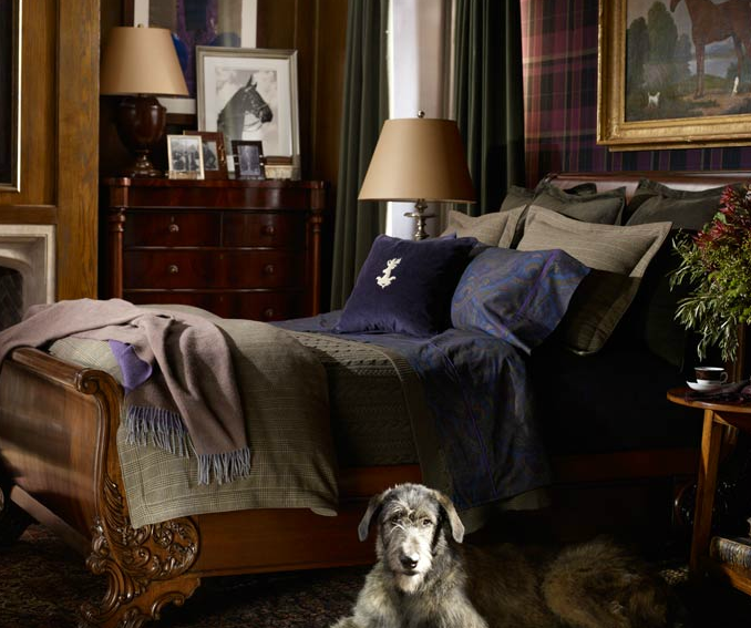 Learning From 30 Years Of Ralph Lauren Home: Beachrose Ramblings: Man Caves: Ralph Lauren Style