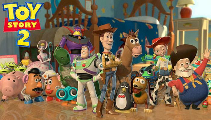 Toy Story 2 (1999) Fixar Movie Wallpapers, film animasi terbaru terbaik terpopuler sepanjang sejarah myanimelist
