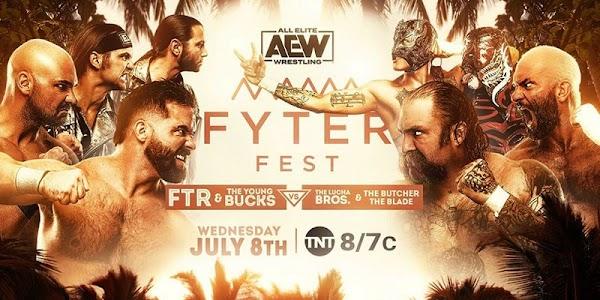 AEW Fyter Fest en Español 8 de Julio del 2020 Repetición