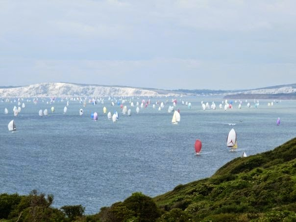 Round the Island Race on the Isle of Wight