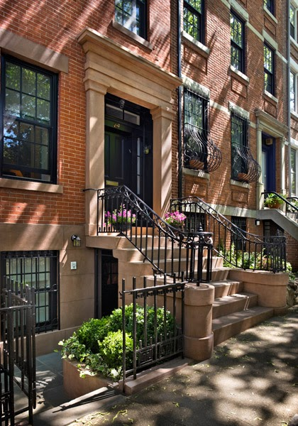 Green Street A Chic Brooklyn Heights Greek Revival