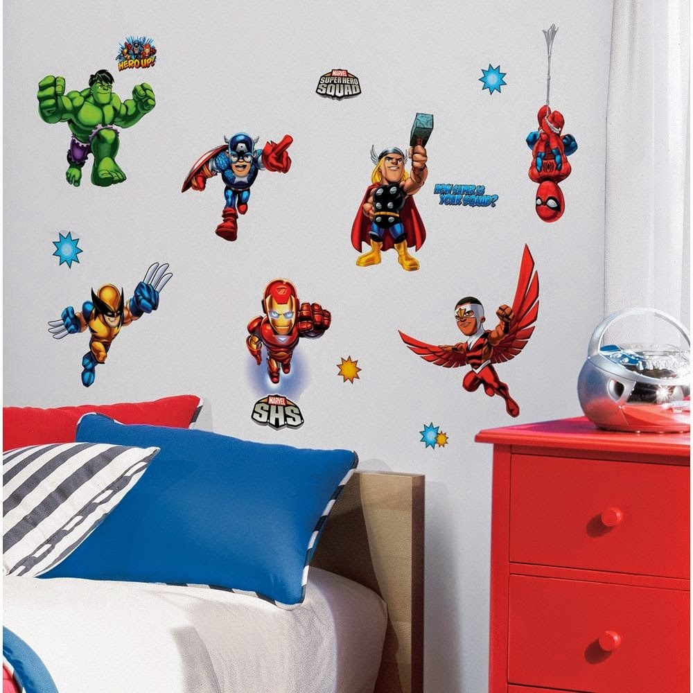 Boys Superhero Room Decor: Home Show: Suggestions Decorating Your Superhero Boys