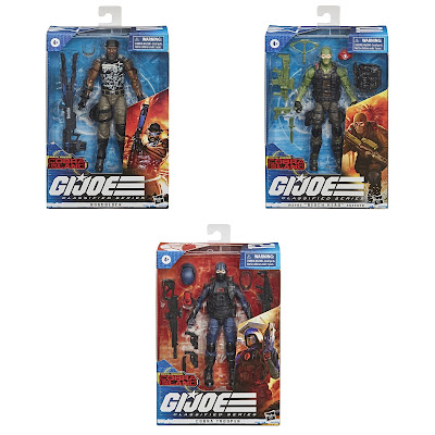 Target Exclusive G.I. Joe Classified Series COBRA Island Wave Action Figures by Hasbro