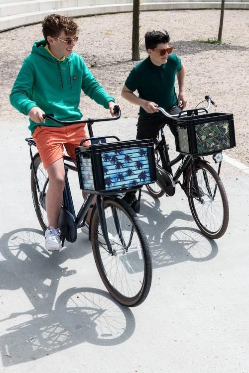 Eigen ontwerp fietskrat maken