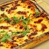 Receita de lasanha de berinjela vegetariana