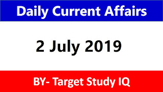 Daily Current affairs By Target Study IQ