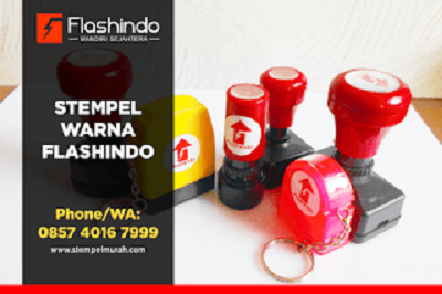 Flashindo vendor stempel warna terlengkap