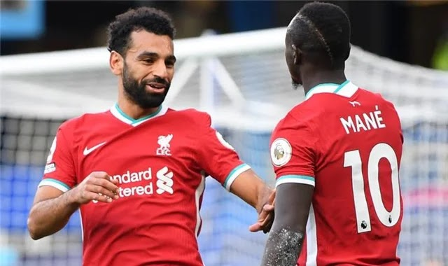 The Leipzig defender sings about Mohamed Salah and Mane before the Champions League clash with Liverpool