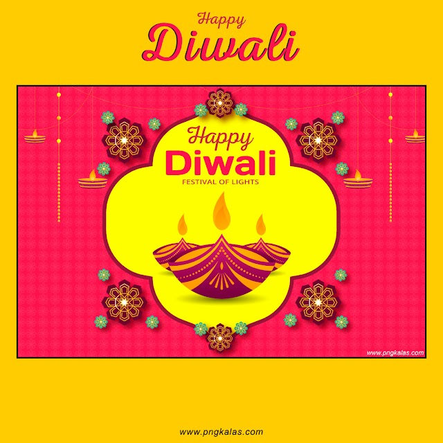 Happy Diwali Poster Design