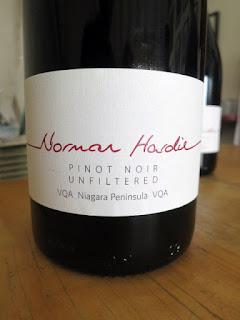 Norman Hardie Unfiltered Niagara Pinot Noir 2016 (92 pts)