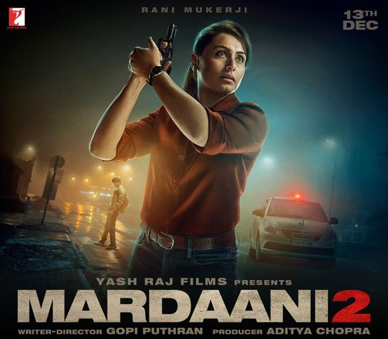 Mardaani 2 2019 Hindi Movie 720p pDVDRip 1.2GB Free Download