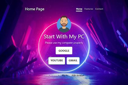 Cara Mengganti Home Page Firefox Dengan Template HTML