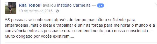 instituto carmelita assistencia social e desenvolvimento