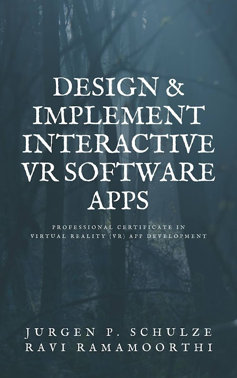 Design & implement interactive VR software apps