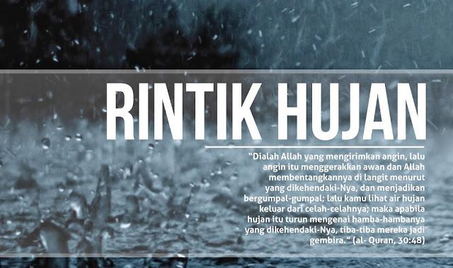Hujan adalah rahmat Allah