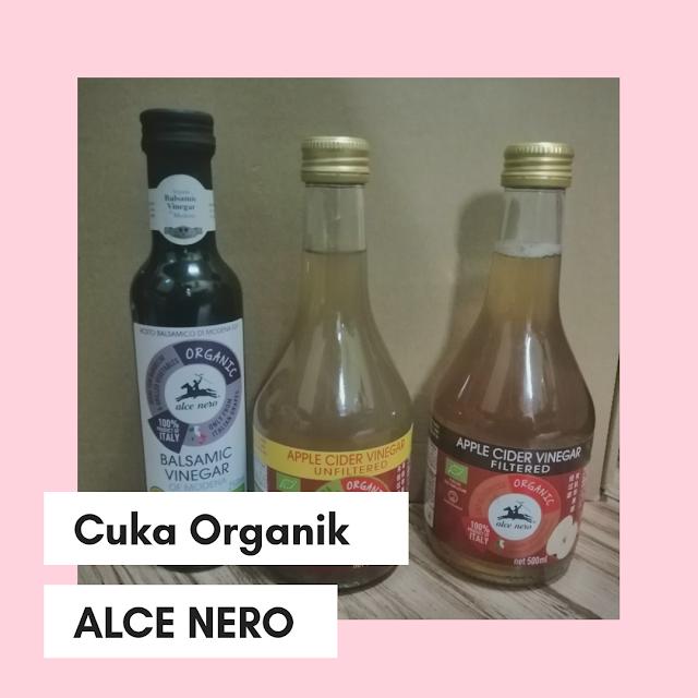 Cuka Organik dari Alce Nero