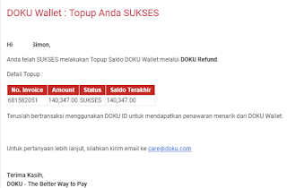 Refund Dana Aliexpress Via Doku Wallet
