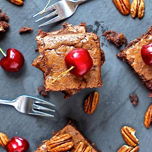 Gluten Free Cherry Cake Lorraine