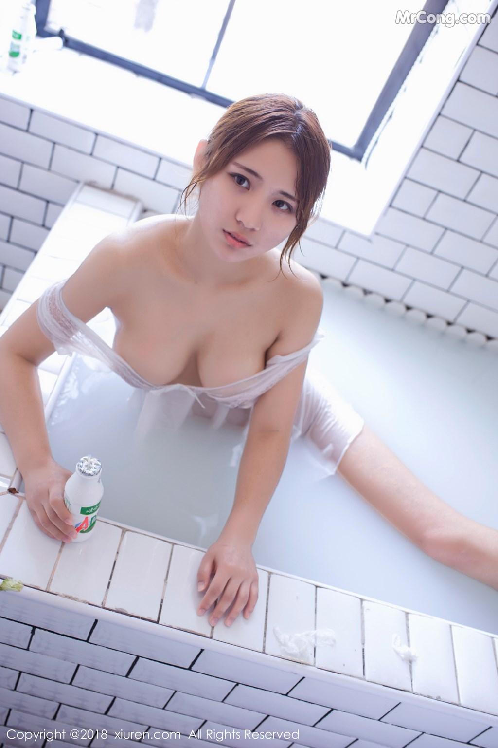 Image XIUREN-No.1279-Aimee-MrCong.com-001 in post XIUREN No.1279: Người mẫu 久久Aimee (46 ảnh)