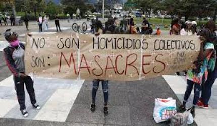 Frente a las masacres piden intervención de la CIDH.