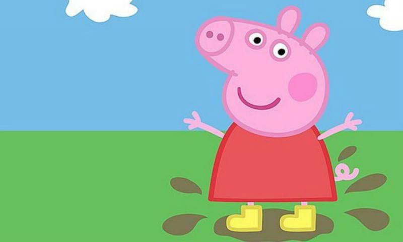 Imagenes peppa pig y su familia para dibujar y colorear - Peppa cochon a la plage ...