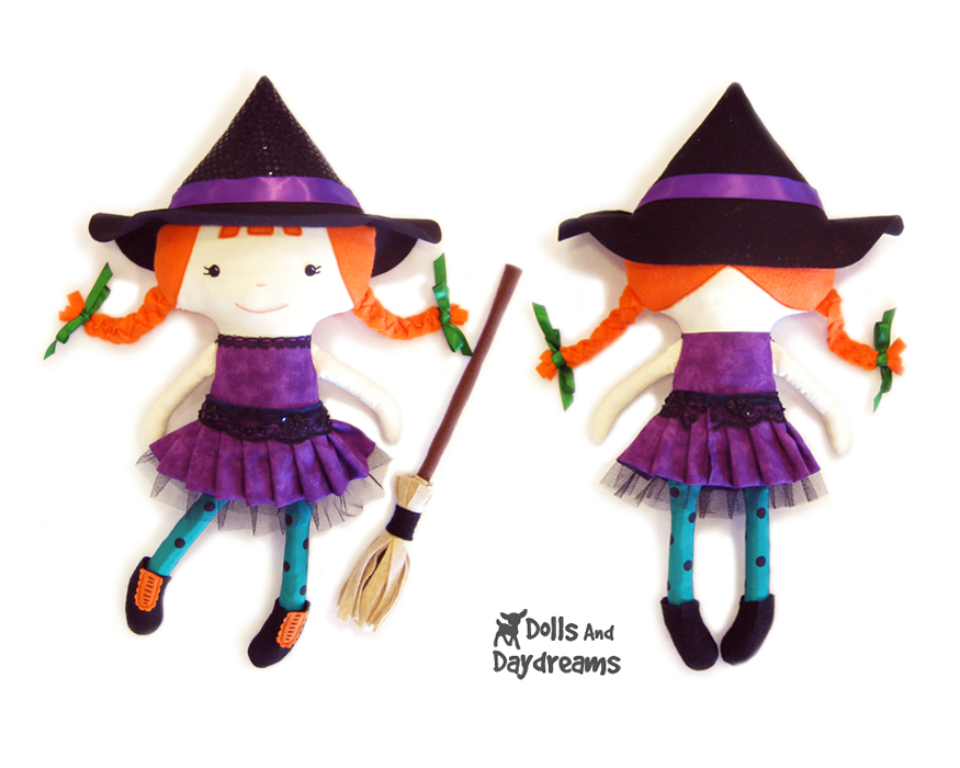 Dolls And Daydreams - Doll And Softie PDF Sewing Patterns: Halloween ...