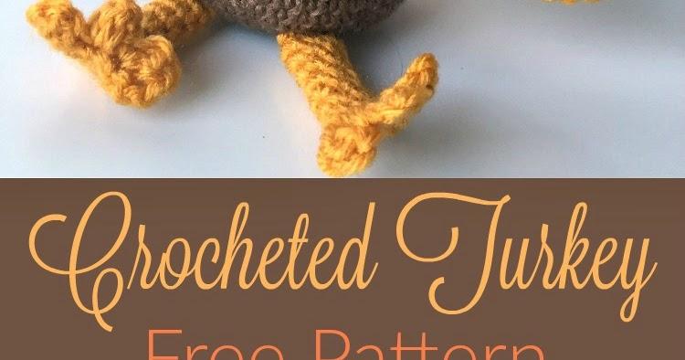 Theo the Turkey – Amigurumi Crochet Pattern     394x750