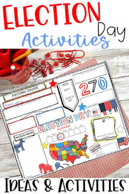 Election day ideas to teach grade 4 5 6 students about the american government