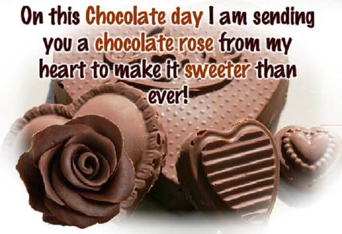 Happy Chocolate Day Wishes for BF