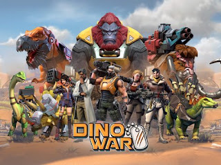 Dino War MOD APK v1.2.1 for Android Original Version Terbaru 2018
