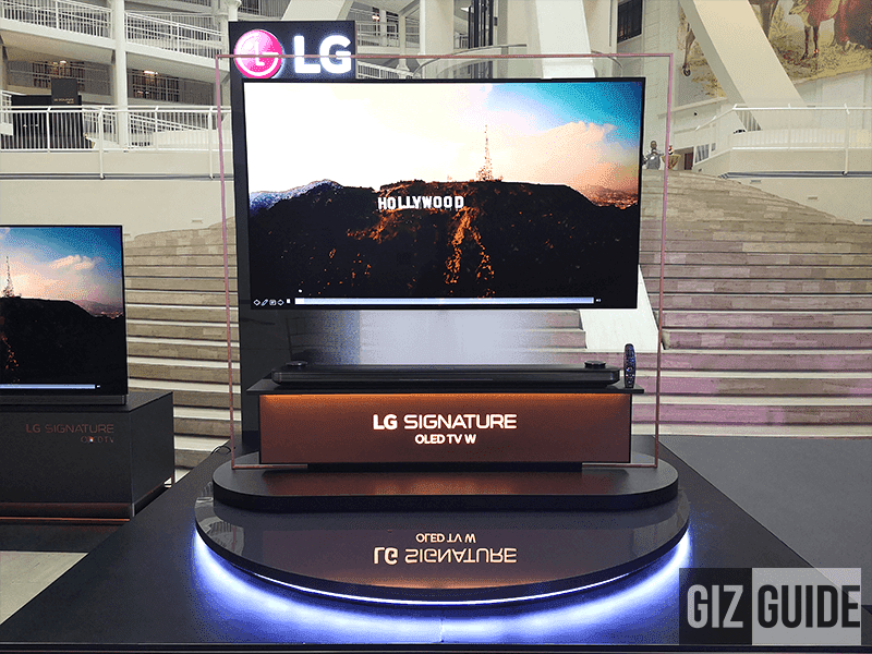 Lg Launches Oled Wallpaper Tv W8 With 4k Resolution In The Philippines