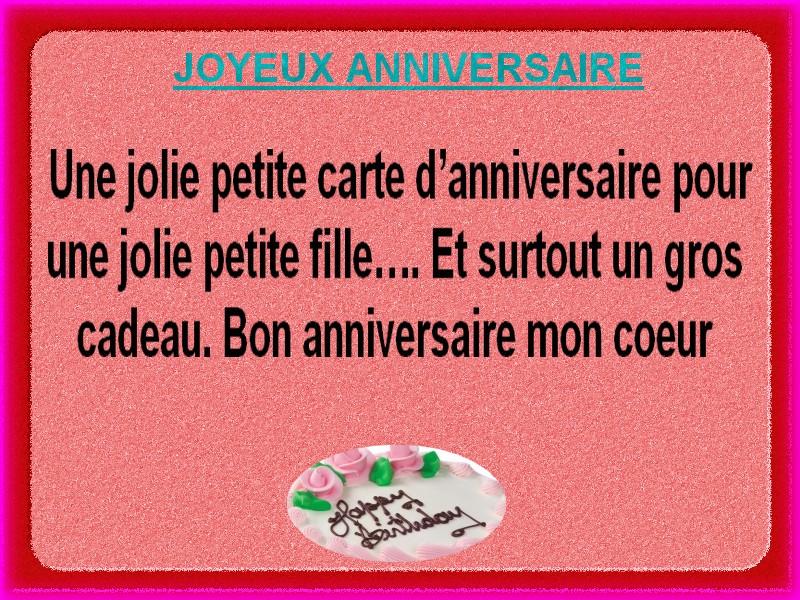 Carte joyeux anniversaire po mes et textes d 39 amour 2018 - Carte d amour ...
