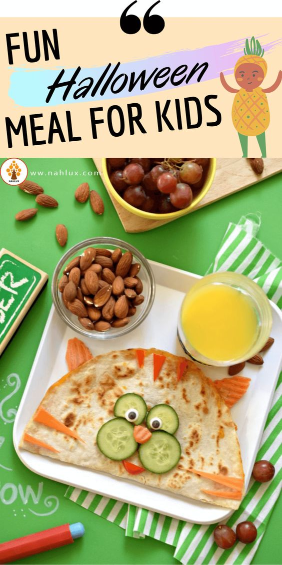 Fun Halloween Meals For Kids - Recipe