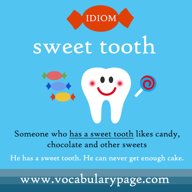 Sweet tooth idiom