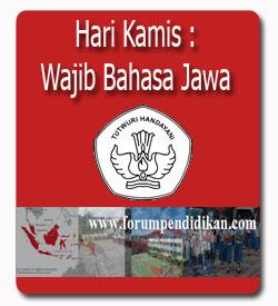 Hari Kamis, Wajib Menggunakan Bahasa Jawa