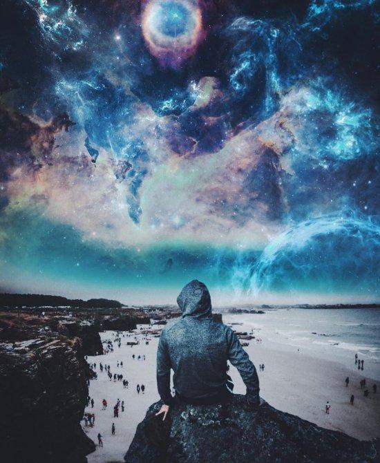 Simeon Dukov instagram foto-manipulações photoshop surreais paisagens espaciais