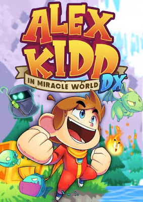 Capa do Alex Kidd in Miracle World DX